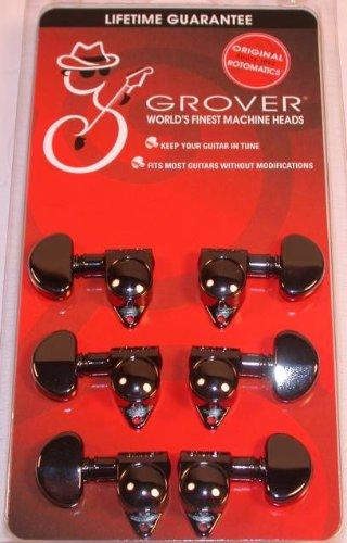 Grover Orig Rotomatics 102BN Guitar/Tuner Machines NEW