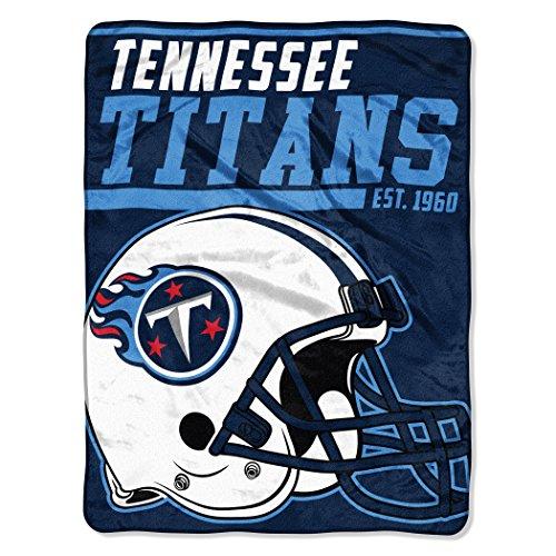 (NFL Tennessee Titans 40 Yard Dash Micro Raschel Throw, 46