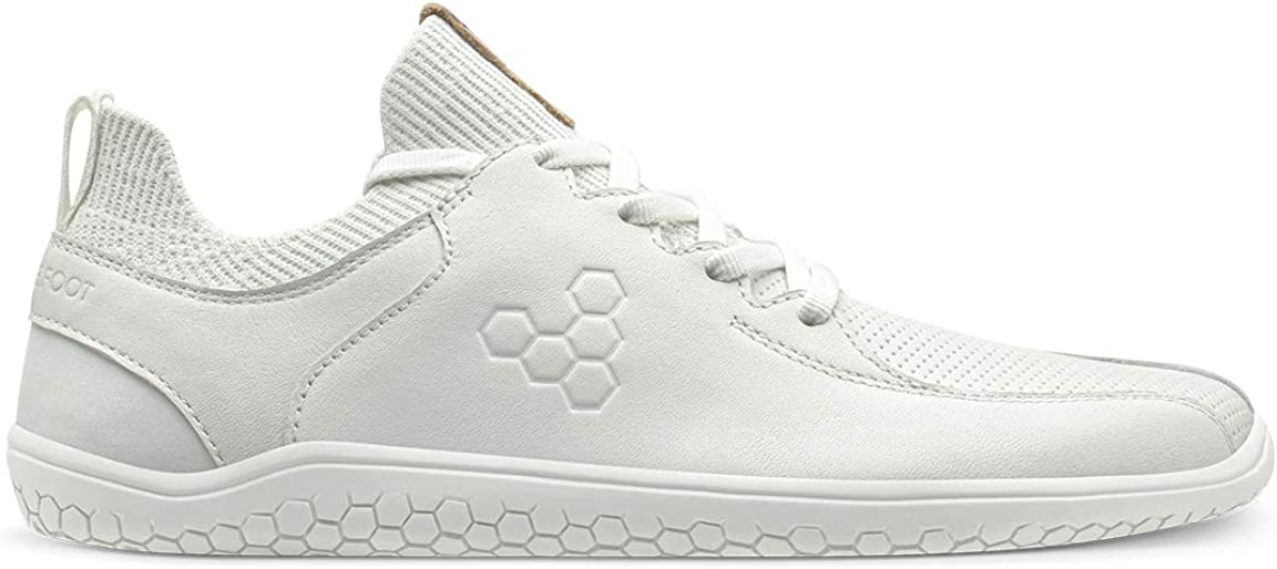 Vivobarefoot Mujer Primus Knit Lux Leather Textile Entrenadores