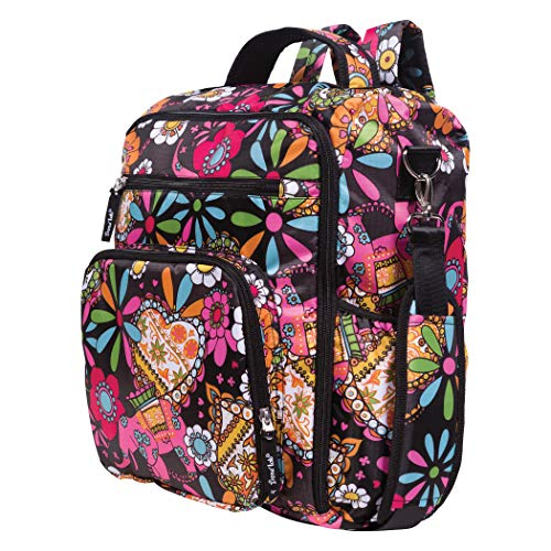Trend Lab Multi-Function Bohemian Floral Convertible Backpac