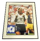 Mia Hamm Autographed Color Picture In Frame Autograph Auto Psa/Dna 20 X 24