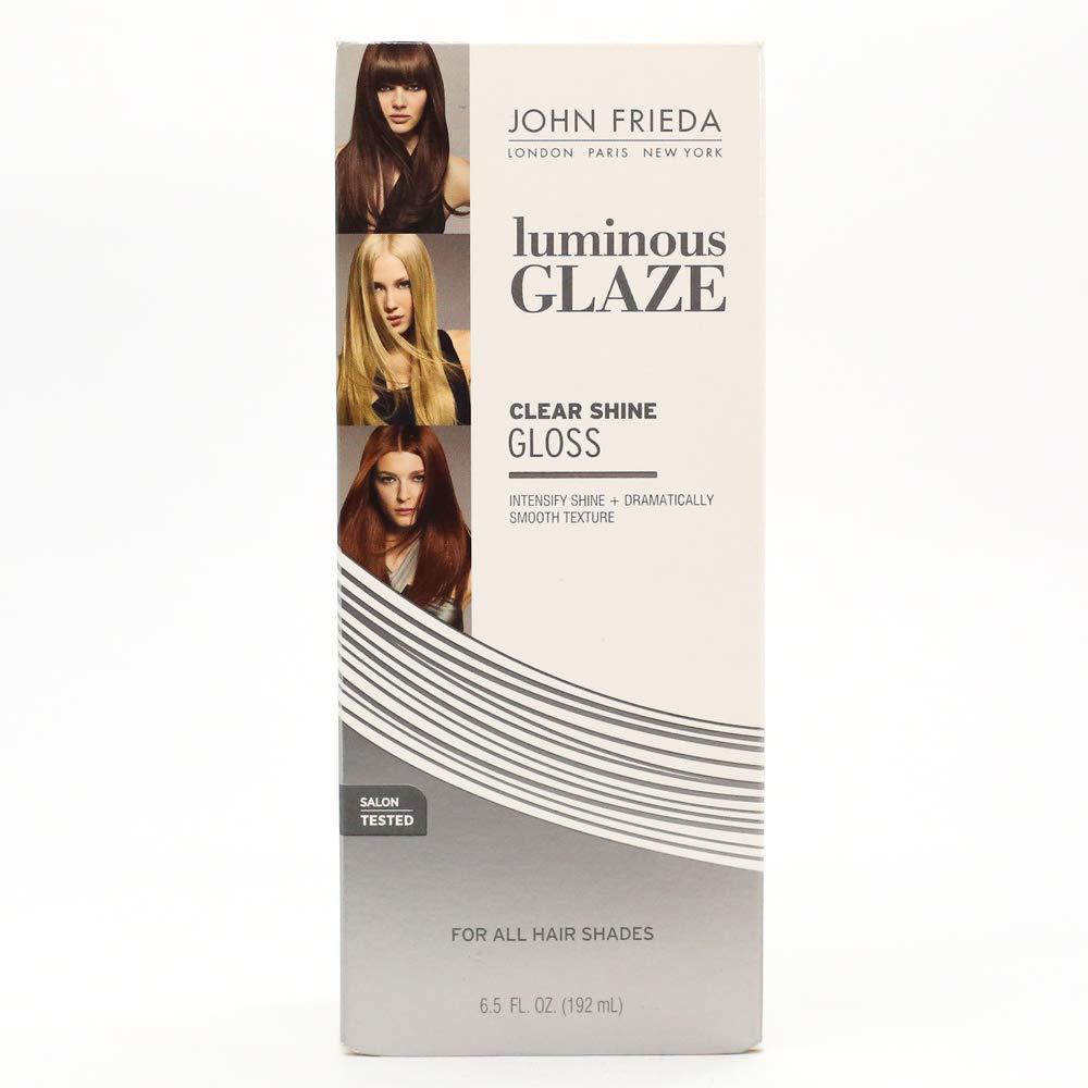 John Frieda Luminous Glaze Clear Shine Gloss, 6.5 Ounces KAO Brands boi-opp-klo-uyi6226
