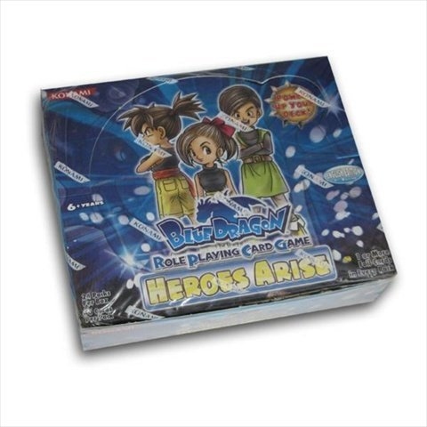 Konami Digital Entertainment Blue Dragon RPCG Role Playing Card Game Heroes Arise Booster Pack 7 Cards