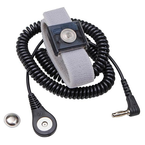 Desco Jewel Reusable Wrist Strap /& Cord Set 09202 PRICE is per EACH 0.875 in Wide 13 in Length