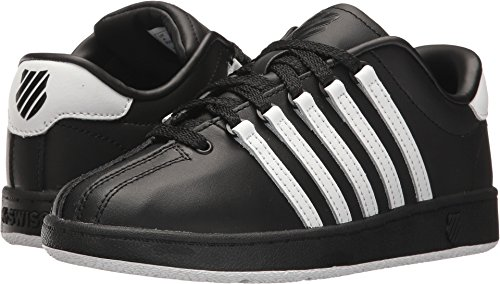K-Swiss Kids Unisex Classic VN (Big Kid) Black/White/White Athletic Shoe