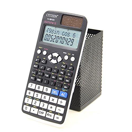Amyove 10 Digits Display Scientific Desktop Calculator Schoo