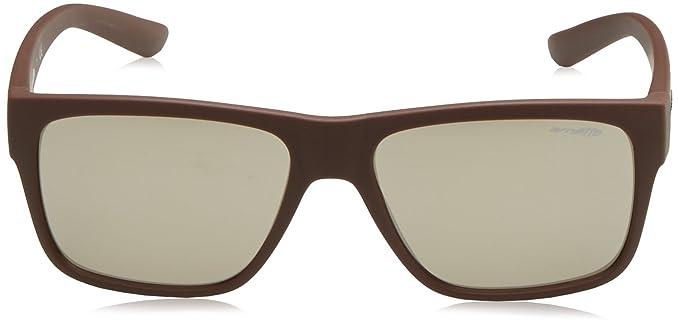 Mens 0AN4226 23805A Sunglasses, Matte Brown/Lightbrownmirrordarkgold, 57 Arnette