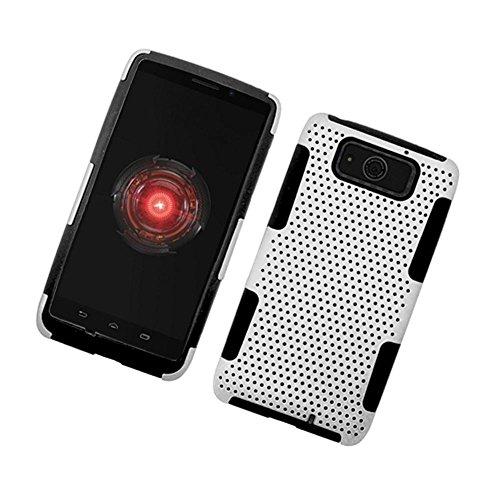 Ultra Armor Maxx Mesh - Eagle Cell Motorola Droid Ultra Mesh Case, Black/White Net