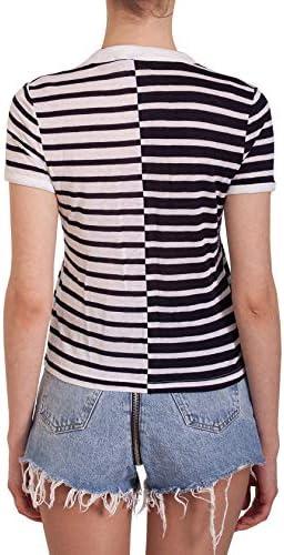 Alexander Wang Fashion Woman 4CC12010629457 White Viscose T-Shirt | Spring Summer 20