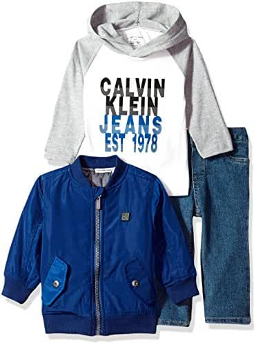 Calvin Klein Baby Boys' 3 Pc Jacket Sets
