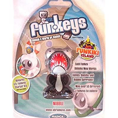 UB Funkeys (Rare Nibble) Funkiki Island [ Black Nibble ]: Toys & Games
