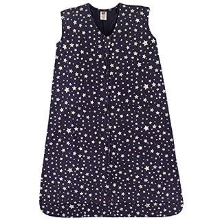 Hudson Baby Unisex Baby Cotton Sleeveless Wearable Sleeping Bag, Star, 6-12 Months US