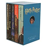 coffret harry potter en 5 volumes harry potter a l ecole des sorciers harry potter et la chambre aux secrets harry potter et le prisonnier d azkaban harry potter et la coupe de feu harry potter et l ordre du phenix harry potter deluxe boxed set in french of harry potter and the sorcerer s stone harry potter and the chamber of secrets harry potter and the prisoner of azkaban harry potter and the goblet of fire harry potter and the order of phoenix