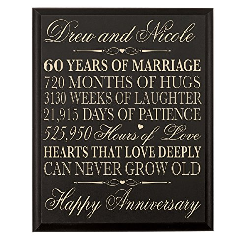 60th Anniversary Gifts And Decor Amazon