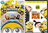 Kyle mini Minions Movie Secret Life Despicable Me 3 + Mini Character Figures Animated DVD & Toy Kids Bundle