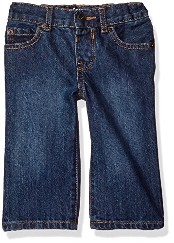 The Children's Place Baby Boys' Loose Fit Jeans, Medium Wash 26052, 9-12 Months
