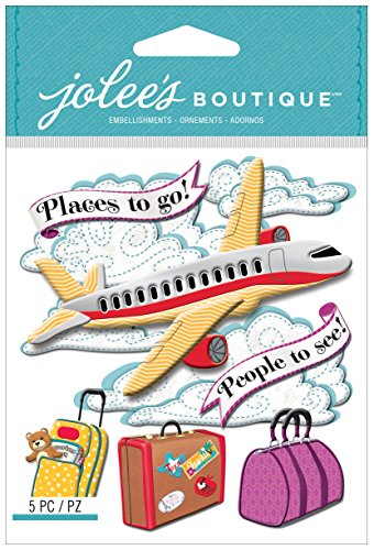 - Jolee's Boutique Dimensional Stickers, Airplane