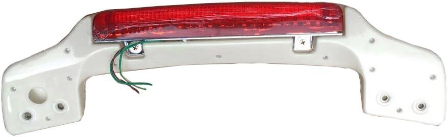 Red LED Trunk Light Spoiler For Harley Touring King Razor Chopped Tour Pak 97-13