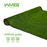 WMG Artificial Grass Lawn 4'x6' Synthetic Turf Grass Rug Green Fake Grass for Home Backyard Patio Balcony Indoor Outdoor Décor, 1 Pack