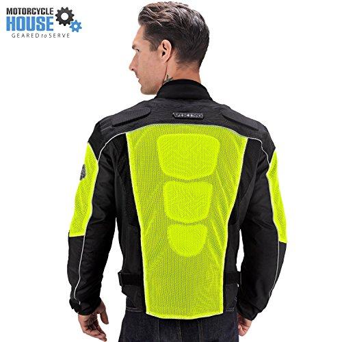 Motorcycle Jacket Yellow - 1