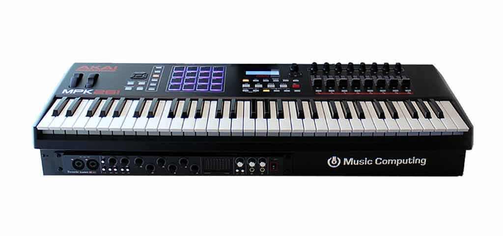 Music Computing ControlBLADE 5 Pro MAC – computer-based keyboard production station