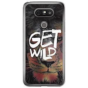Loud Universe LG G5 Get Wild Printed Transparent Edge Case - Multi Color