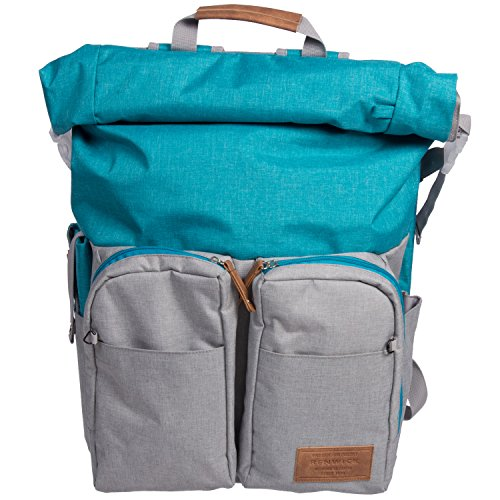 Roll Top Backpack - 4