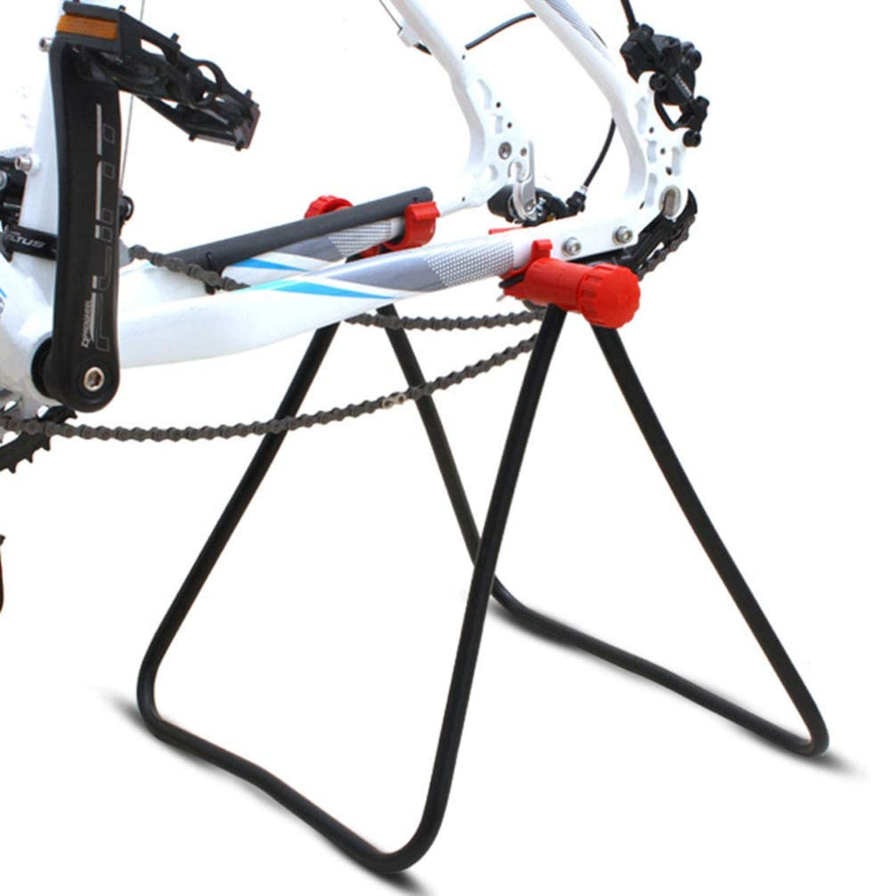 CLISPEED Bicycle Repair Mechanics Workstand Bike Support Holder Rack for Mountain Bikes and Road Bikes Maintenance
