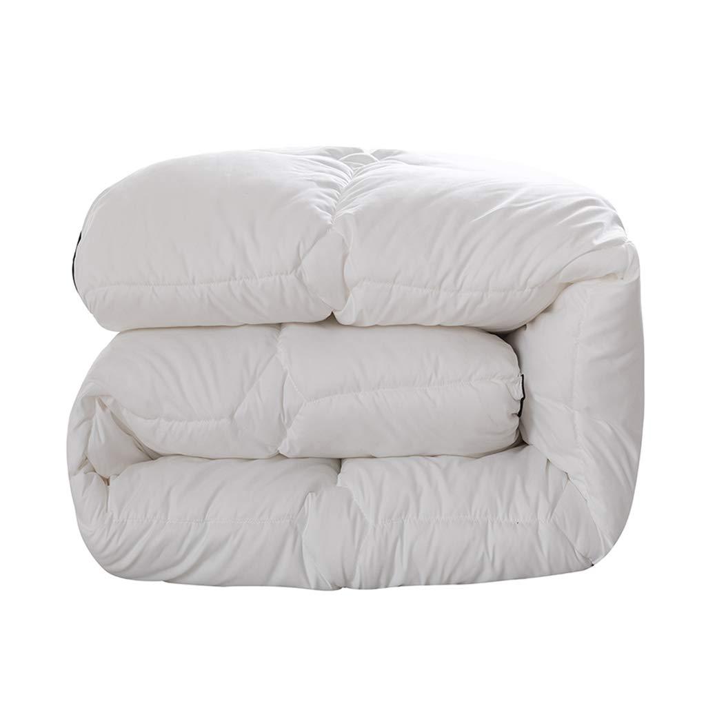 ホテルキルト、3-4.5KG -暖かいエアコンのキルトのベッドルームのナップキルトを保つ白い冬の濃化 (サイズ さいず : 180*220CM-3.5KG) B07K1JNBP8  180*220CM-3.5KG