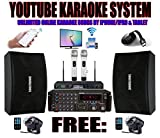 SINGTRONIC Youtube Professional 2000W Complete Karaoke System Special Built in HDMI