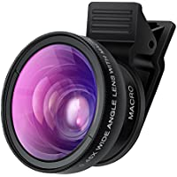 Cell Phone Camera Lens - TURATA 2 in 1 Professional HD...
