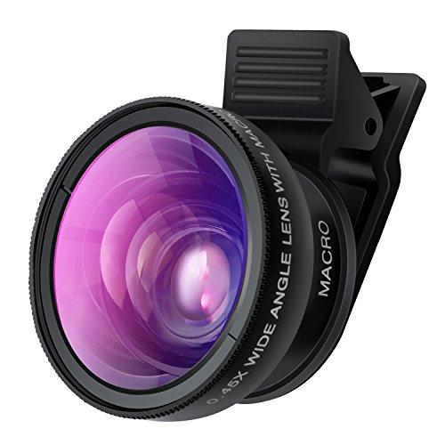 لنز دوربین کیلیپسی موبایل TURATA دو در یک حرفه ای اچ دی |