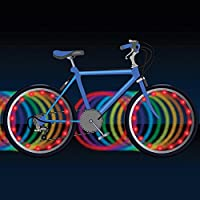 Brightz, Ltd. Wheel Brightz LED Bicycle Accessory Light (2-Pack Bundle 2 Tires), Color Morphing