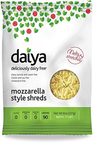 Daiya Mozzarella Style Shreds, 8 Ounce -- 12 per case.