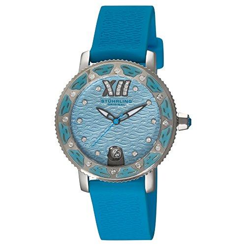 Stuhrling Original Women's 225R.1116I6 Nautical Regatta Marina Swarovski Crystal-Accented Watch by Stuhrling Original