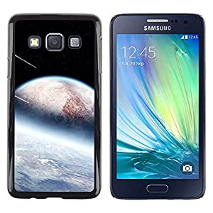 Paccase / Dura PC Caso Funda Carcasa de Protección para - Alien Planets Meteor Shower Stars Space Cosmos - Samsung Galaxy A3 SM-A300