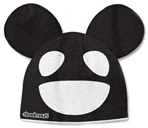 Beanie: Deadmau5 - Black/White Mouse Size ONE SIZE