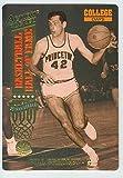 Bill Bradley basketball card (Princeton University Tigers NCAA) 1993 Action Packed #74