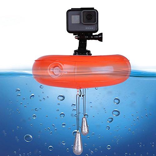 Telesin Floating Disc Surfer sur Internet, accessoire de caméra GoPro flotteur Air gonflable en PVC imperméable pour GoPro Hero 5/4/3+/3SJCAM SJ4000/5000/6000Xiaomi Yi Action Camera