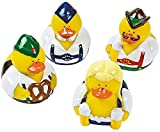 Fun Express 12 Oktoberfest Rubber Ducky Party Favors
