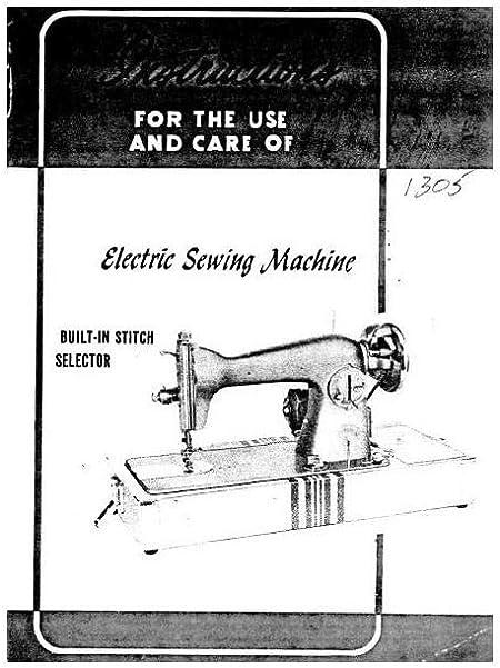 Descargar Pdf-File Singer W1305 Máquina de coser: Amazon.es: Hogar