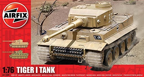 Airfix A01308 Tiger I Tank 1:76 Scale Series 1 Plastic Model Kit by Airfix