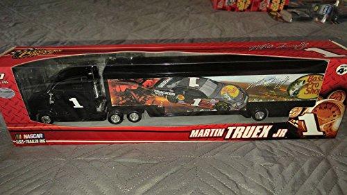 Martin Truex #1 Bass Pro Shop Tracker Boats Dale Earnhardt Inc DEI Hauler Transporter Trailer Rig Semi Tractor Truck Winners Circle (Toy Bass Boat)
