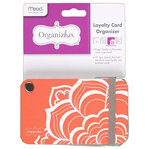 Mead Organizher Loyalty Card Organizer, 2-1/2