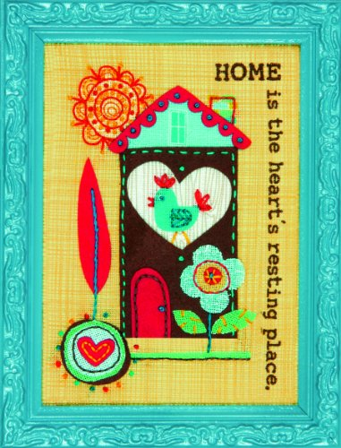 EK Success Dimensions Home Is Embroidery/Felt Applique