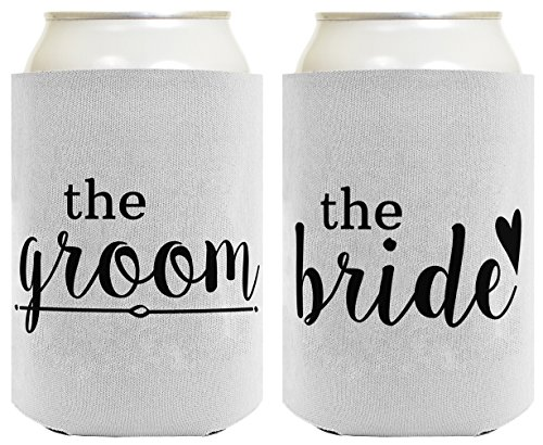 bride and groom can coolers - 2