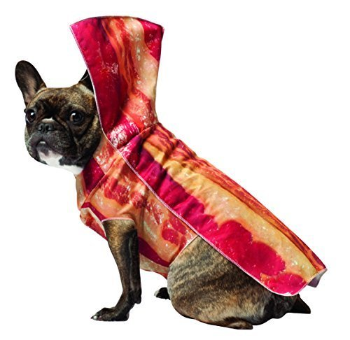 Bacon Dog Costumes (Bacon Dog Pet Pet Costume - Medium)