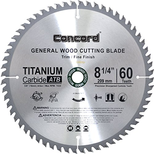Concord Blades WCB0825T060HP General Purpose product image