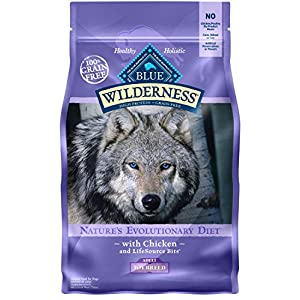 Blue Buffalo Wilderness High Protein Grain Free, Natural Adult Toy Breed Dry Dog Food, Chicken 4-Lb 39