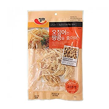"Jeonghwa Food ""Squid like peanuts"" Squid with Peanut Butter ..."